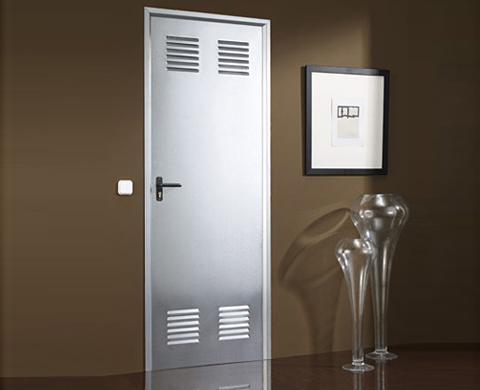 Puertas galvanizadas para trasteros materiales de for Trasteros prefabricados precios